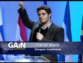 UX Design em 7 Passos – Daniel Werle, Fórum Web Adventista