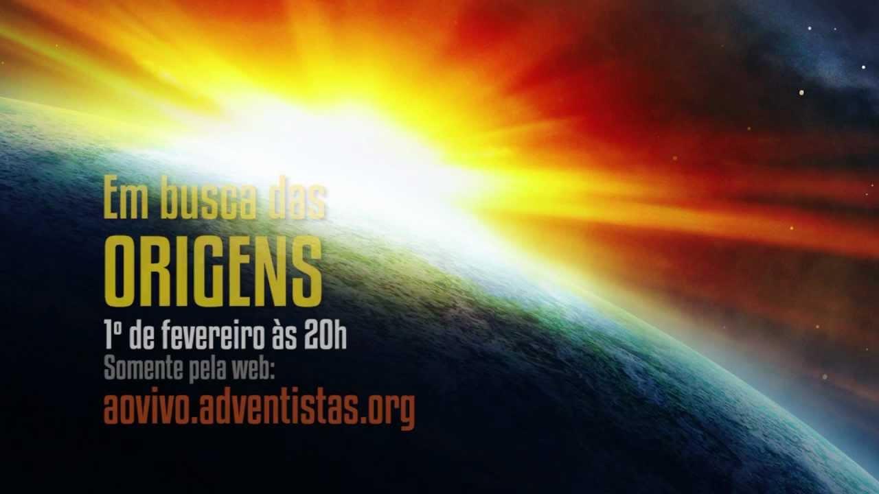 Em busca das #Origens – Criação ou Evolução? Participe!