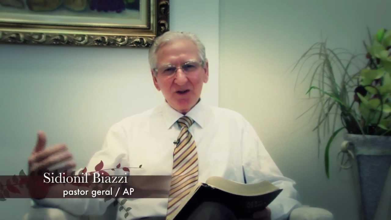 Mensagem de Natal 2012 – Pr. Sidionil Biazzi