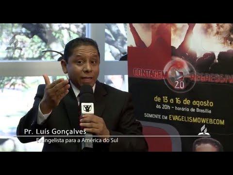 Convite do Pr. Luís Gonçalves – Contagem Regressiva | Igreja Adventista