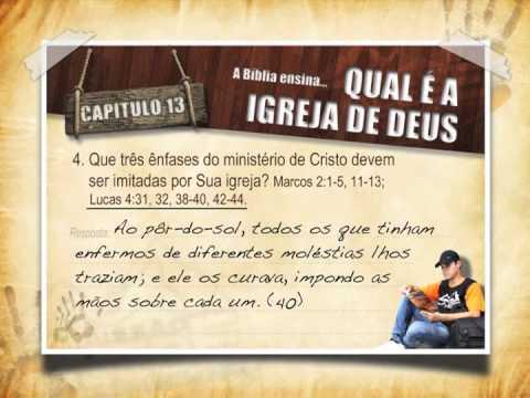 #13 Qual é a igreja de Deus: Guia de Estudos – Levando Esperança
