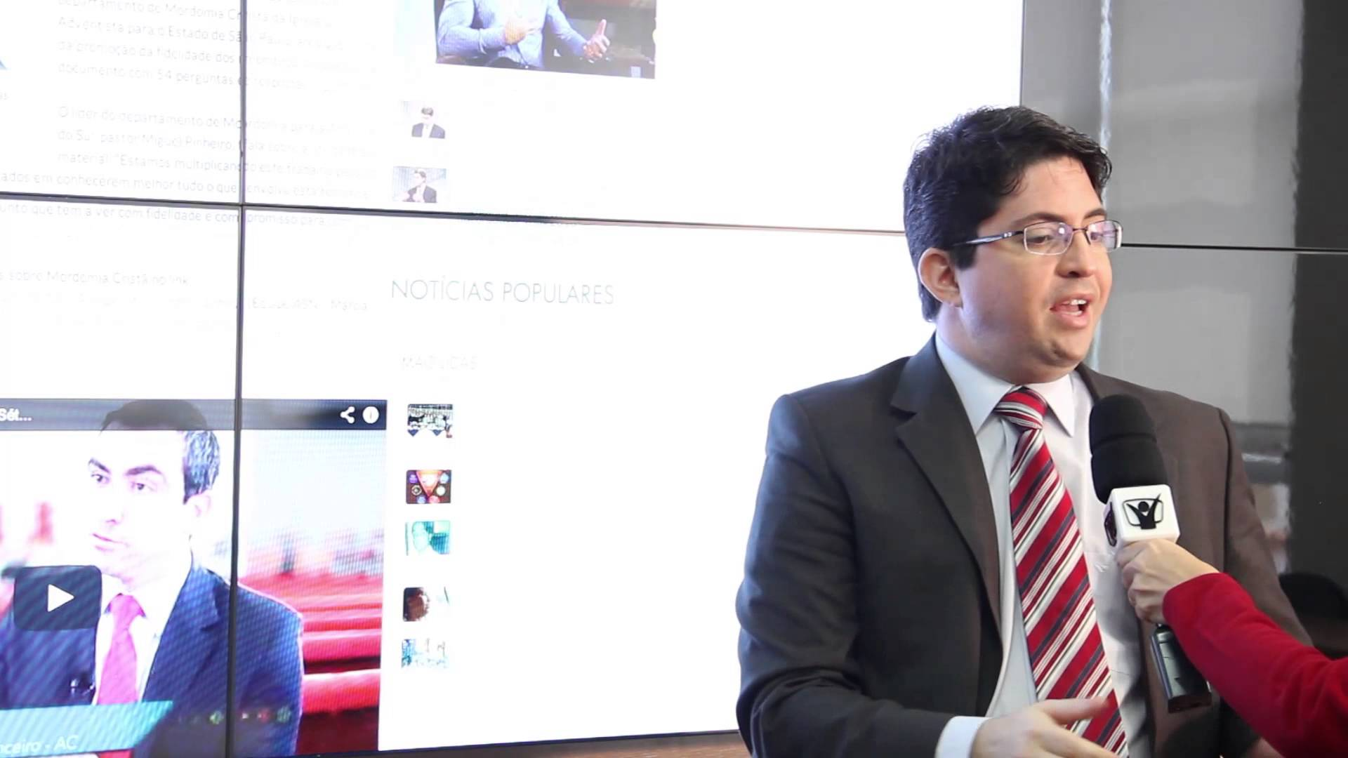 Notícias Adventistas – Novo portal adventista – Rogério Ferraz
