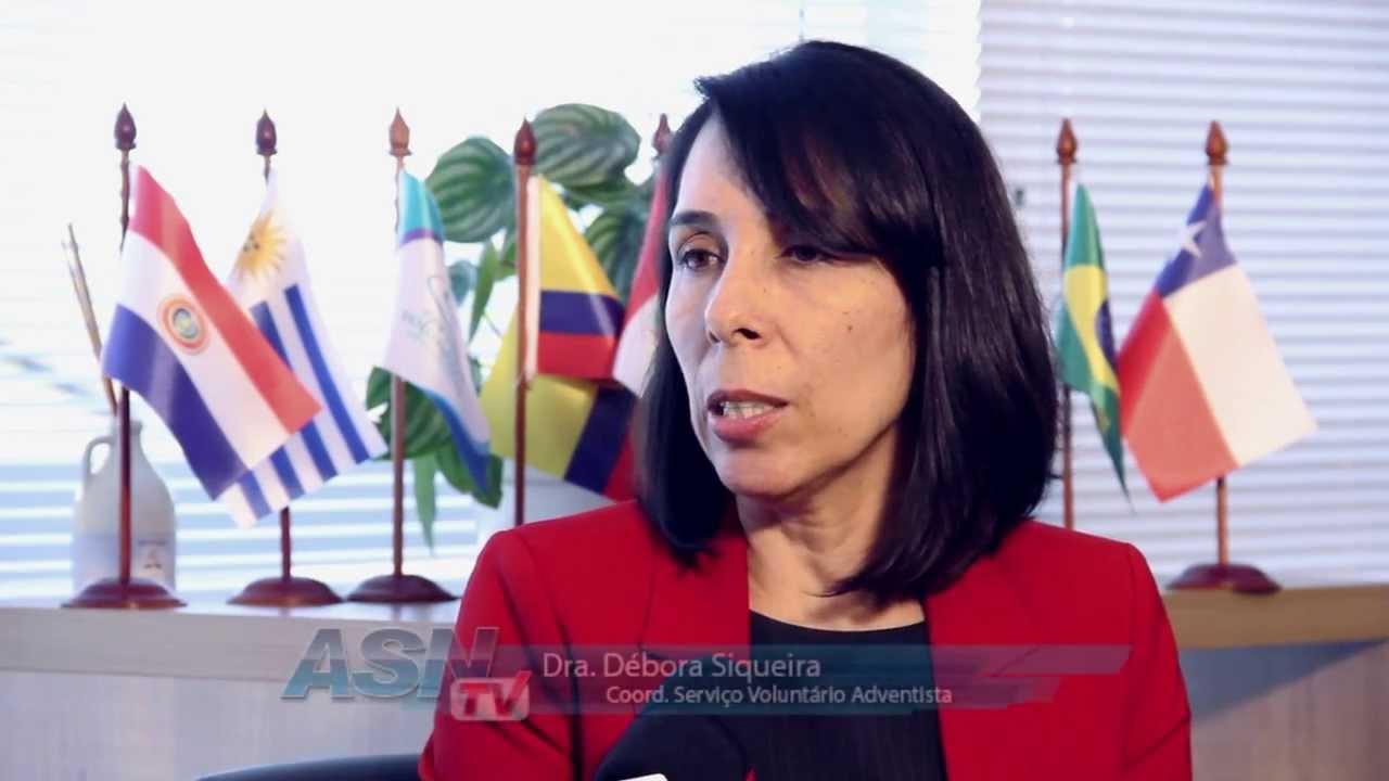 Notícias Adventistas – Serviço Voluntário Adventista – Débora Siqueira