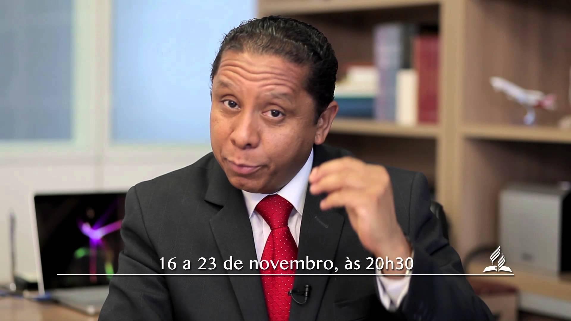 """Convite do Pr. Luís Gonçalves para seus amigos – """"A Última Esperança"""""""