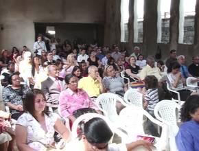 Cerimônia de Organização da Igreja de Vila Mirim