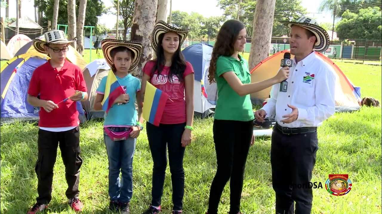 Colombianos  e amazonenses – IV Campori DSA