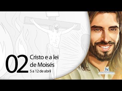 Libras – Cristo e a lei de Moisés – 5 a 12 de abril