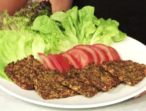 Hambúrguer Vegetariano – Entrando na Linha