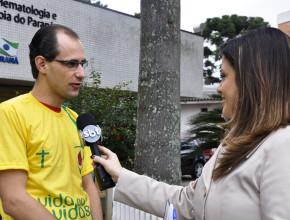 Projeto Esperança Brasil em Curitiba – reportagem Rede Massa
