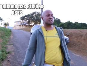 Testemunho e batismo de Leandro Nascimento – Evangelismo nas prisões ASES