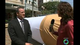 Colégio Adventista de Londrina contra o tabagismo