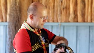 Mundo do Desbravador – aula sobre cobras
