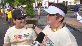 Corrida Vida e Saúde do Recife no Globo Esporte
