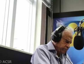 Cid Moreira na Radio Novo Tempo – RS