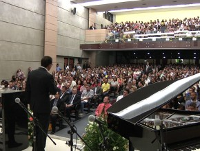 Inauguração Auditório Novo Tempo