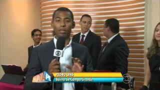 Rede Globo – Orquestra de sinos faz apresentação no Recife