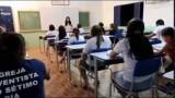 Projeto alfabetiza adultos no interior do Ceará