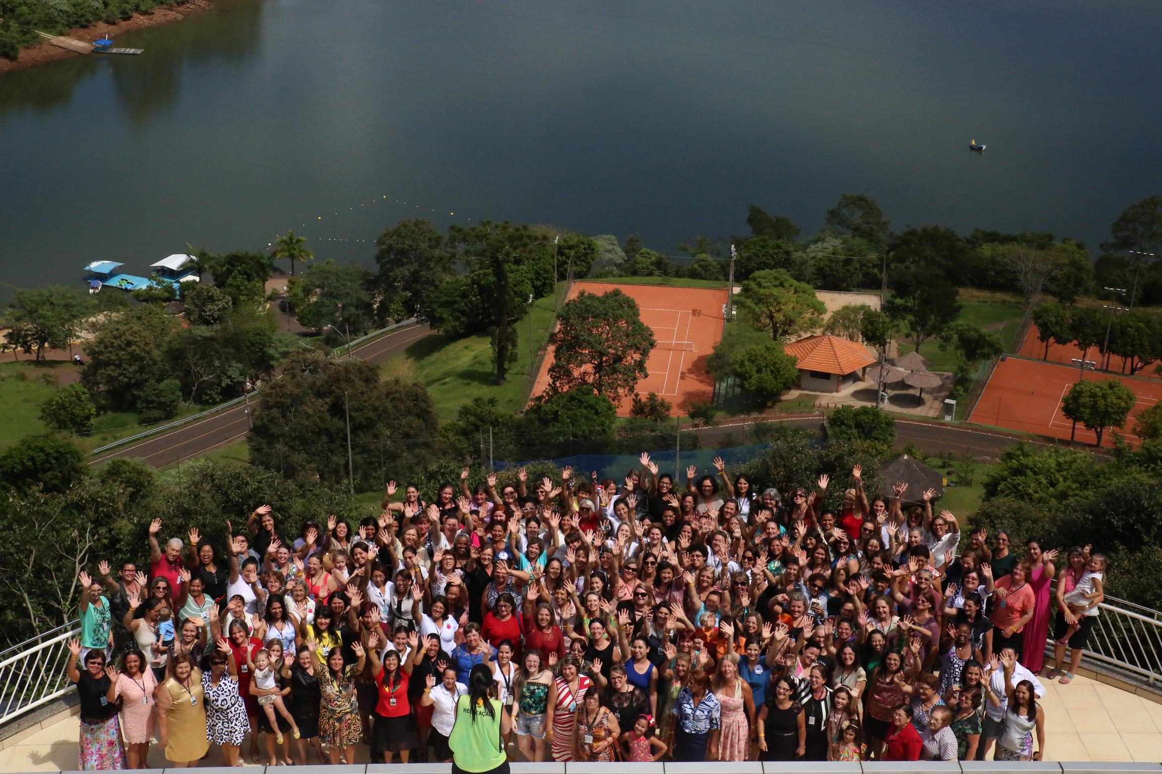 Retiro do Ministério da Mulher em Itá-SC.