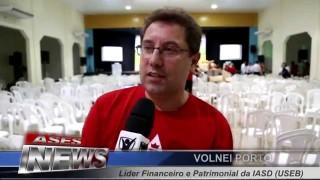 ASES News EP 54 Congresso Missionário da Semana Santa e Encontro de Tesoureiros e Mordomos 2015