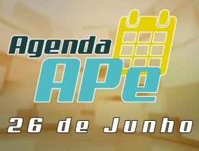 Agenda APe 26 de junho