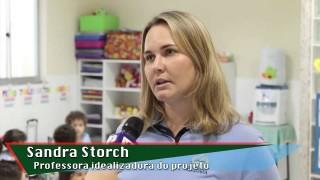 Reportagem – Crianças do Colégio Adventista de BH plantam horta e aprendem a comer saladas