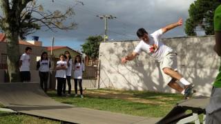 Projeto evangelístico – rampa de skate
