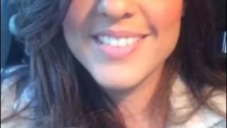 Selfie Promocional para o 1º GAiN APV – Laura Morena