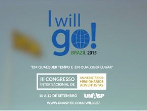 I Will Go Brazil 2015