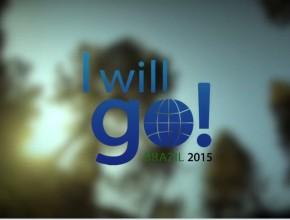Vinheta – I Will Go Brazil 2015