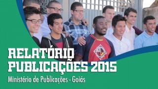 Relatório Publicações 2015