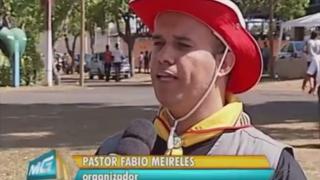 Reportagem: TV Integração/Globo – Acampamento de Desbravadores em Uberlândia
