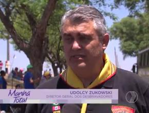 Reportagem: TV Paranaíba/Record – Acampamento de Desbravadores em Uberlândia