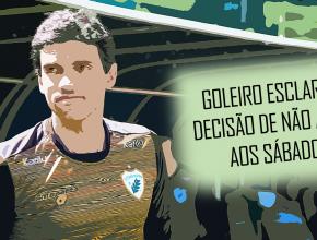 Goleiro Vitor esclarece decisão de não atuar aos sábados