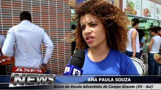 """ASES News EP 79 – Educação Adventista Sul Capixaba no dia """"Z"""" Zika Zero"""