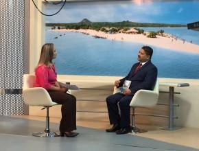 Igreja Adventista é destaque na TV Tapajós, em Santarém