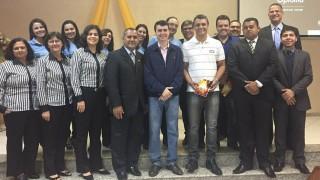 Escola Adventista recebe visita do prefeito