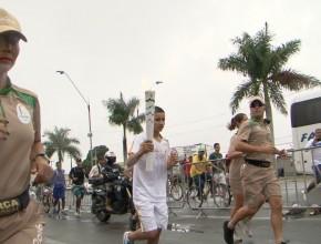 Tocha Olímpica em Feira de Santana
