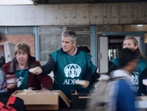 ADRA ameniza sofrimento de refugiados na Europa