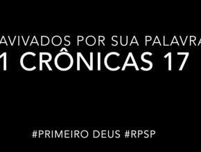 1 Crônicas 17 – Reavivados por sua Palabra #RPSP