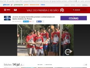 Missão Calebe em Stº Antônio do Pinhal (SP) – TV Vanguarda