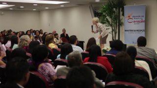 Treinamento auxilia líderes na recepção