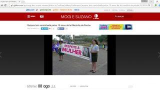 TV Diário – Igreja Adventista participa de caminhada contra a violência