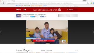 TV Vanguarda (Globo) – Conheça a rotina de pais participativos