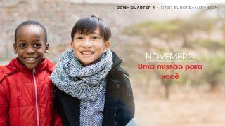 Novembro: Uma missão para você – Informativo Mundial das Missões 4º/Tri/2016