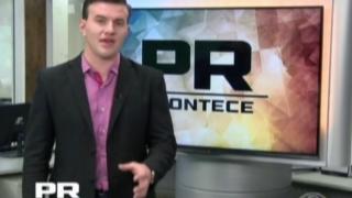 Jornal PR Acontece (BAND) – Túnel sobre a violência doméstica