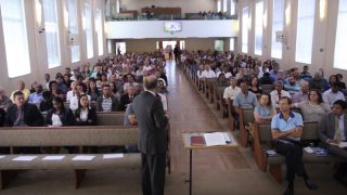 Encontro de anciãos e de professores da escola sabatina