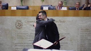 Câmara Municipal de São Paulo – Homenagem ao Pr. Domingos Sousa