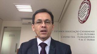 Convite: 110 Anos AC – Francisco Fonseca