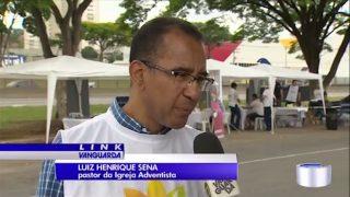 Evangélicos ajudam a peregrinação de católicos rumo ao Santuário Nacional – TV Vanguarda