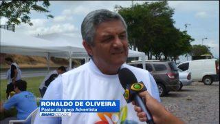 Adventistas montam centro de apoio a romeiros na Dutra – TV Band Vale
